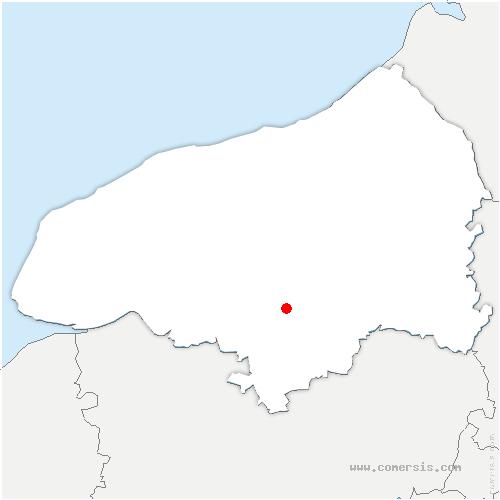 carte de localisation de Houlme