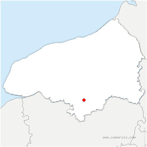 carte de localisation de Petit-Quevilly