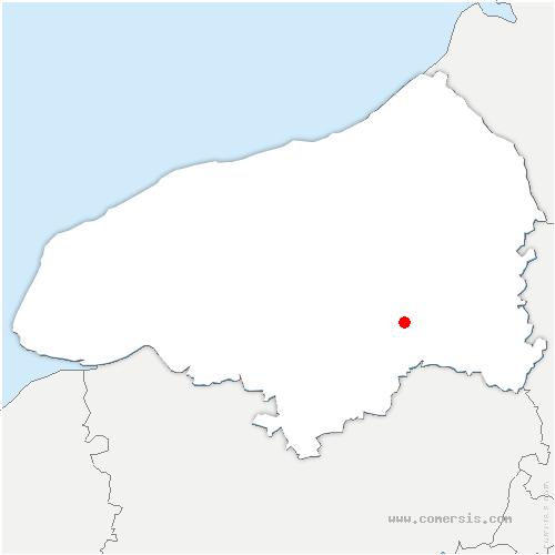 carte de localisation de Saint-Germain-des-Essourts