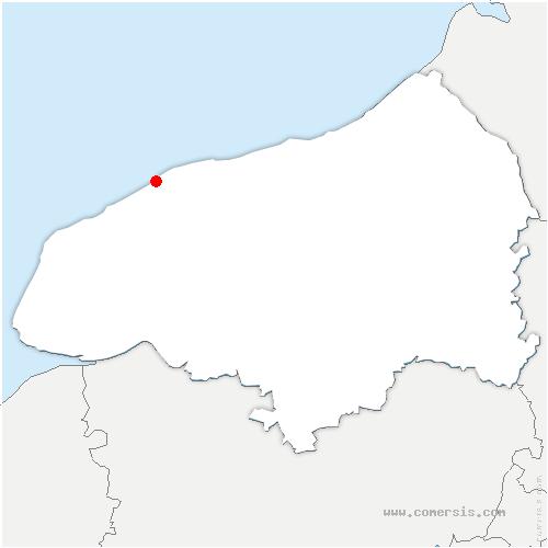 carte de localisation de Saint-Martin-aux-Buneaux
