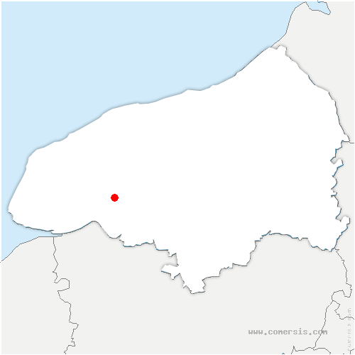 carte de localisation de Saint-Nicolas-de-la-Haie