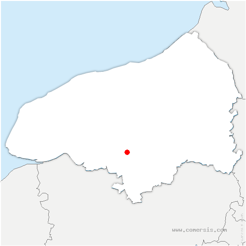 carte de localisation de Saint-Pierre-de-Varengeville