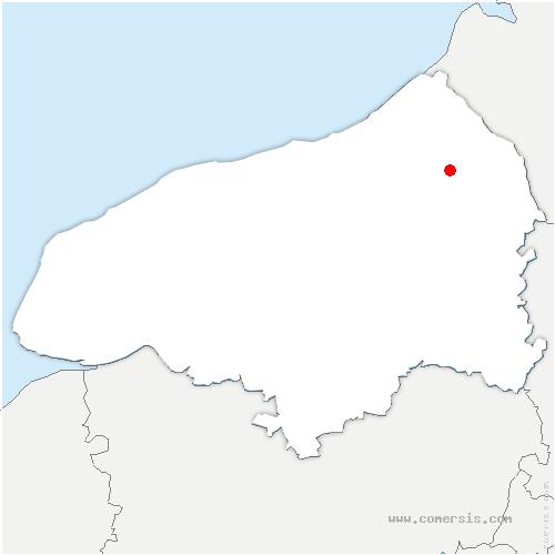 carte de localisation de Saint-Pierre-des-Jonquières