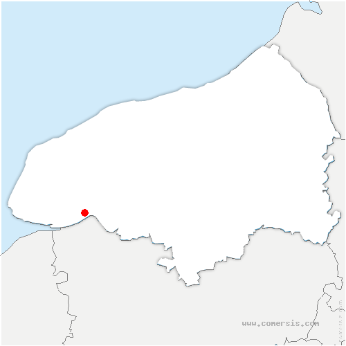 carte de localisation de Tancarville
