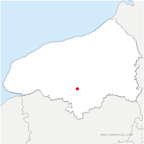 carte de localisation de Vaupalière