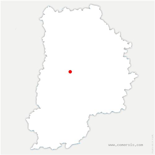 carte de localisation de Argentières
