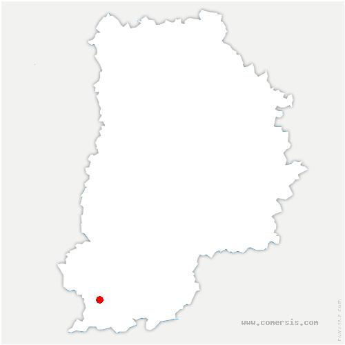 carte de localisation de Aufferville