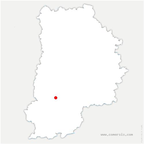 carte de localisation de Avon