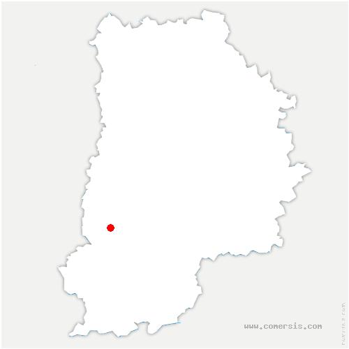 carte de localisation de Barbizon