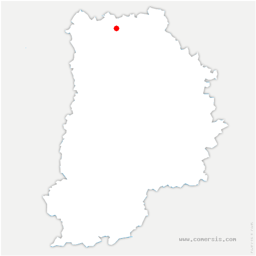 carte de localisation de Barcy
