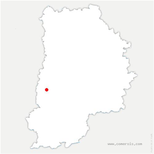 carte de localisation de Boissettes