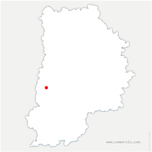 carte de localisation de Boissise-la-Bertrand
