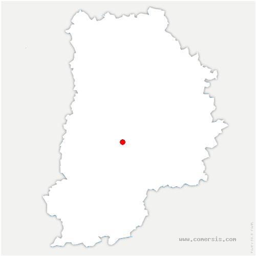carte de localisation de Bombon