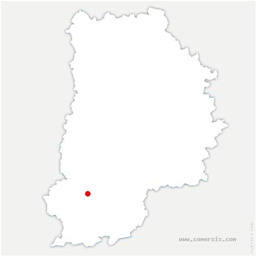 carte de localisation de Bourron-Marlotte