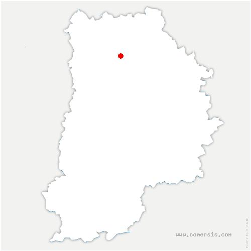 carte de localisation de Boutigny