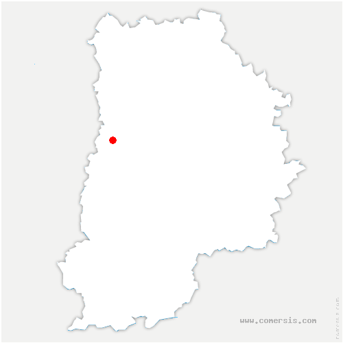 carte de localisation de Brie-Comte-Robert