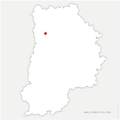 carte de localisation de Bussy-Saint-Georges