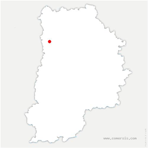 carte de localisation de Bussy-Saint-Martin