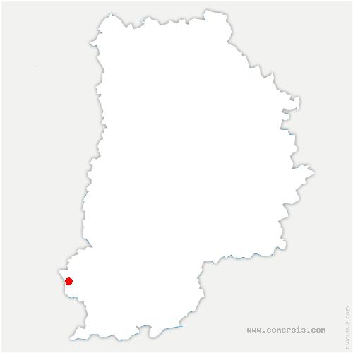 carte de localisation de Buthiers