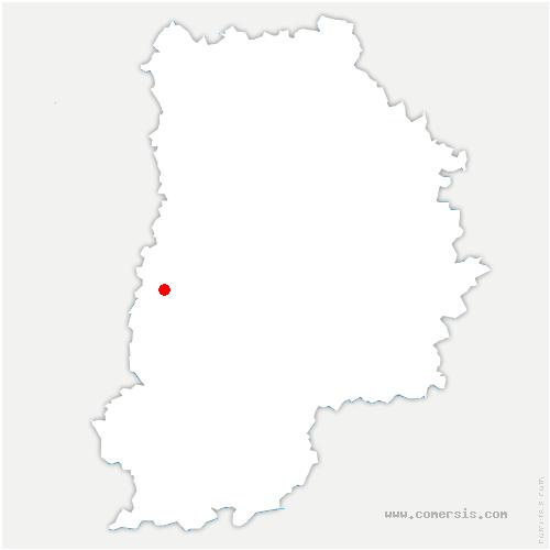carte de localisation de Cesson