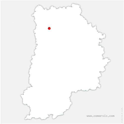 carte de localisation de Chalifert