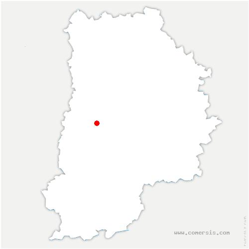 carte de localisation de Champdeuil