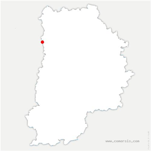 carte de localisation de Champs-sur-Marne
