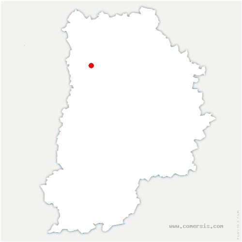 carte de localisation de Chanteloup-en-Brie