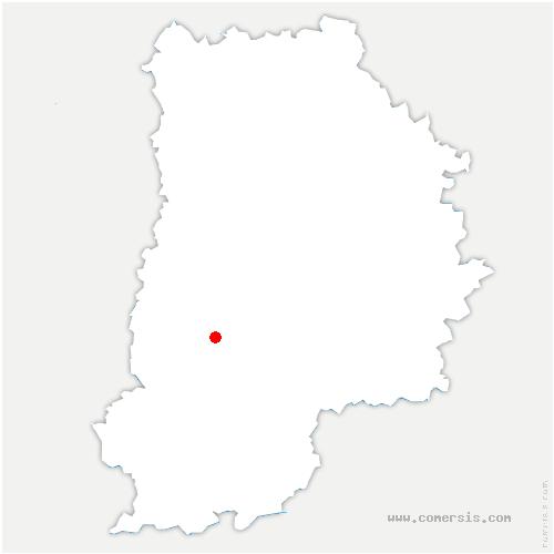 carte de localisation de Chartrettes