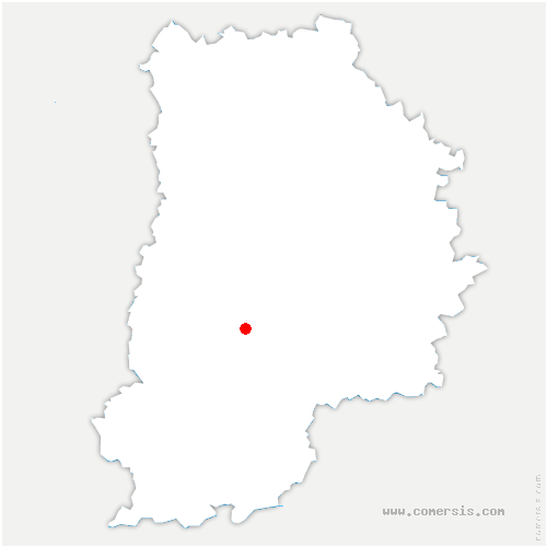 carte de localisation de Châtelet-en-Brie