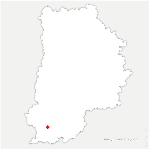 carte de localisation de Châtenoy