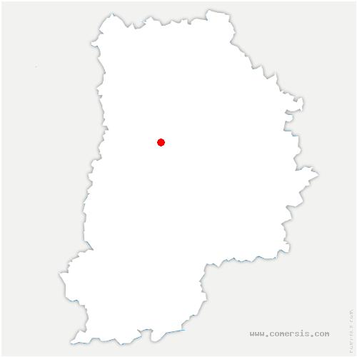 carte de localisation de Châtres