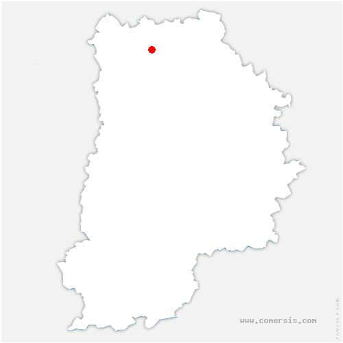 carte de localisation de Chauconin-Neufmontiers