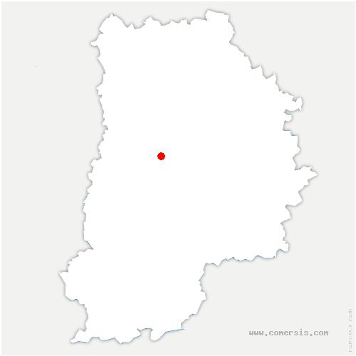 carte de localisation de Chaumes-en-Brie