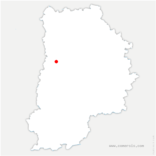 carte de localisation de Chevry-Cossigny