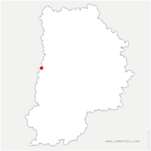carte de localisation de Combs-la-Ville
