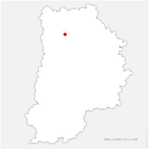 carte de localisation de Condé-Sainte-Libiaire