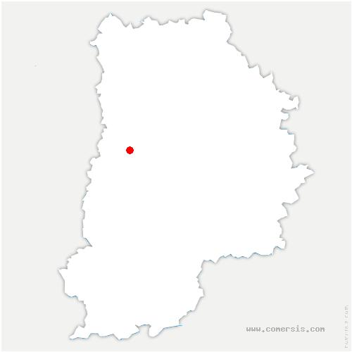 carte de localisation de Coubert
