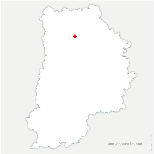 carte de localisation de Coulommes