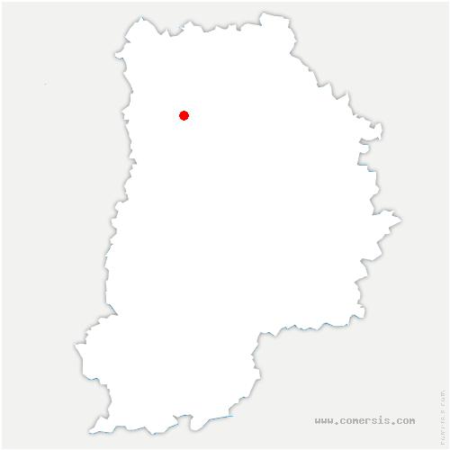 carte de localisation de Coupvray