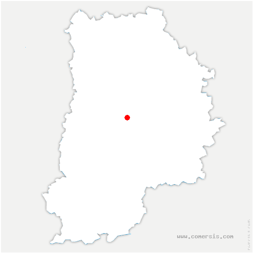 carte de localisation de Courpalay