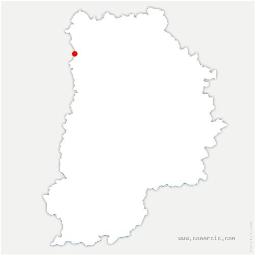 carte de localisation de Courtry