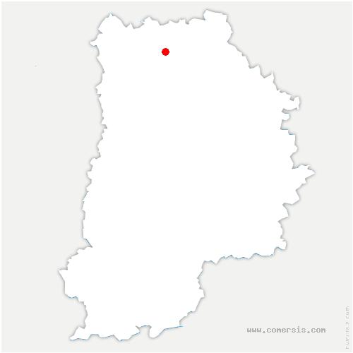 carte de localisation de Crégy-lès-Meaux