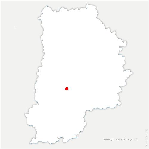 carte de localisation de Écrennes
