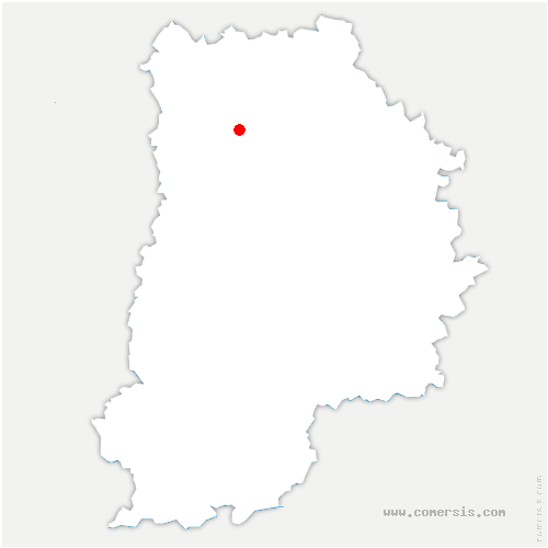 carte de localisation de Esbly