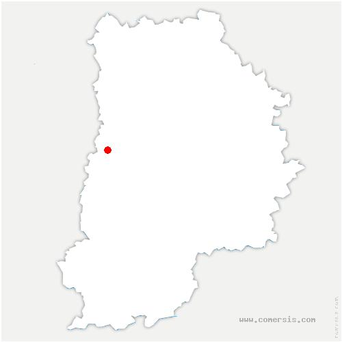 carte de localisation de Évry-Grégy-sur-Yerre