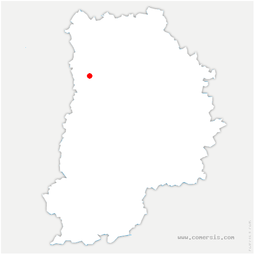 carte de localisation de Ferrières-en-Brie