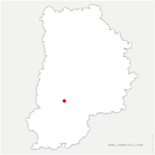 carte de localisation de Fontaine-le-Port