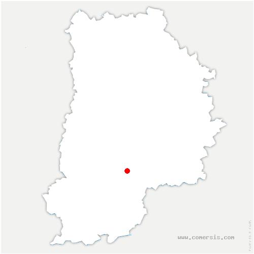 carte de localisation de Forges