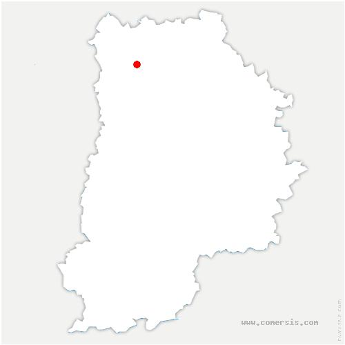 carte de localisation de Fresnes-sur-Marne